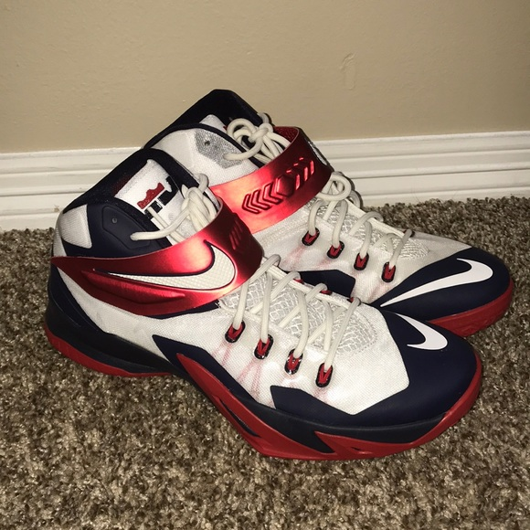 release date: d265a e8382 🏮One Day Sale🏮 Nike Zoom Lebron Soldier 8 USA